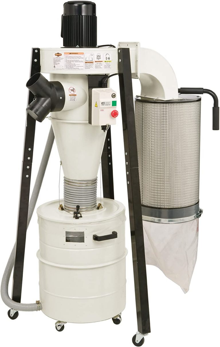Dust Collector Cyclone Portable W1823 by Shop Fox