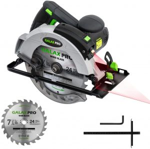 Features of Galax PRO 12A 5500RPM Corded Circular Saw